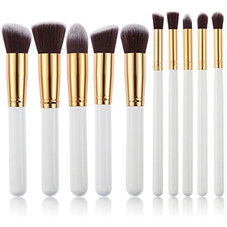 Rophie 10 Piece Makeup Brushes Professiona Makeup Brush