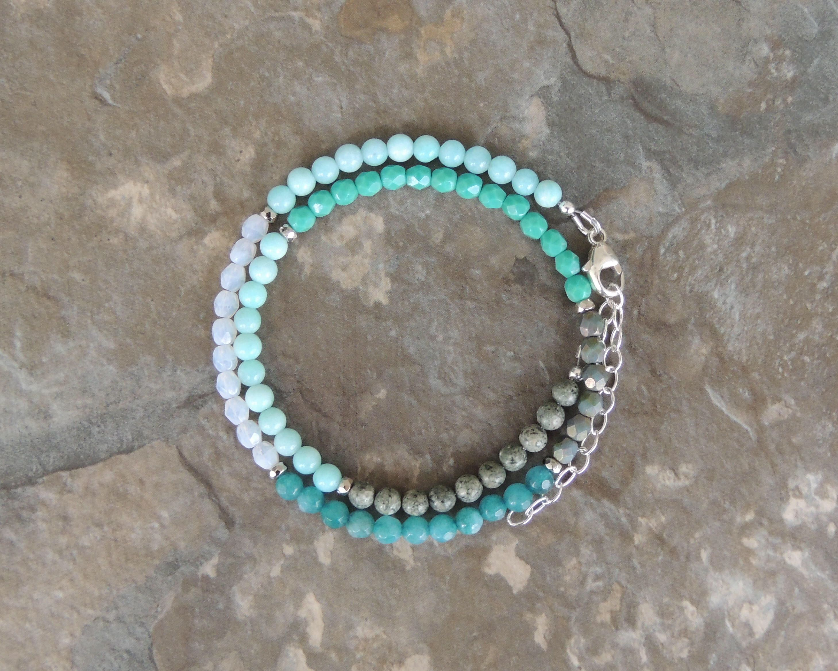lt bracelet blue shop leather nc light
