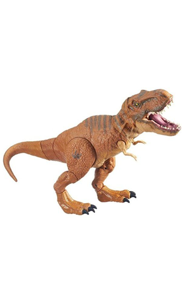 Jurassic World, Stomp and Stike Tyrannosaurus Rex T- Rex Action ...