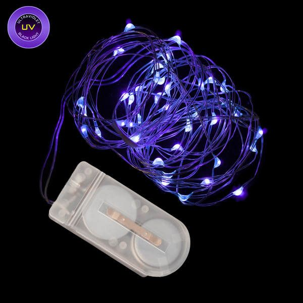 Blacklight String Lights Buy 40 Micro Led Uv Black Light Submersible String Light At Deep