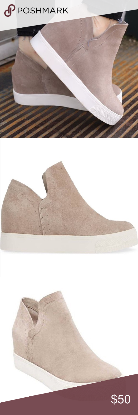 8e5d1801e84 ISO Steve Madden Wrangle Taupe Sneakers In search of (not selling). these Steve  Madden Wrangle sneakers in taupe. Looking for a size 8.5 or 9!