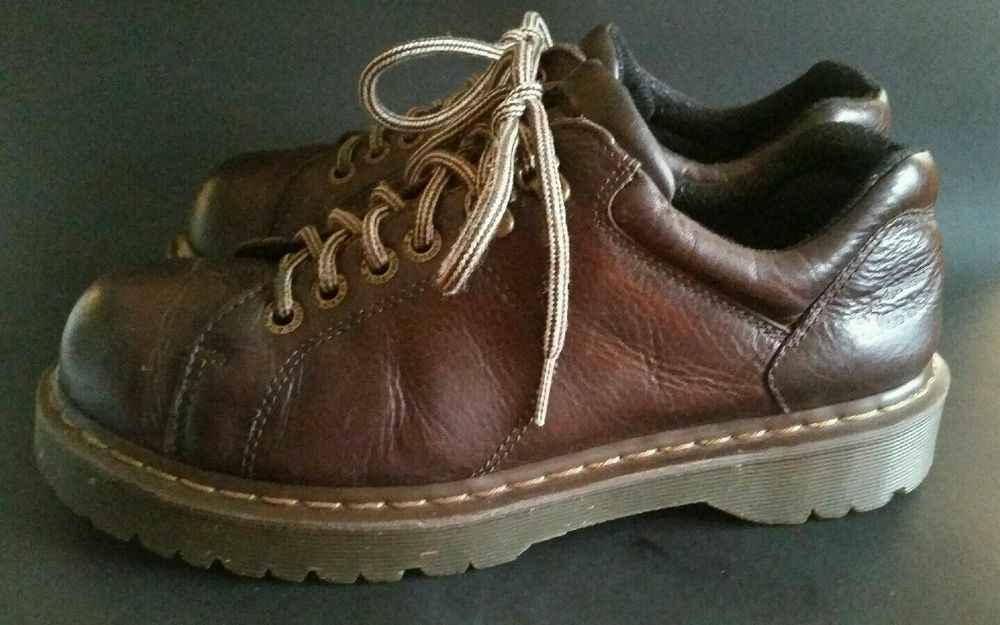 DR DOC MARTENS BROWN LEATHER OXFORD