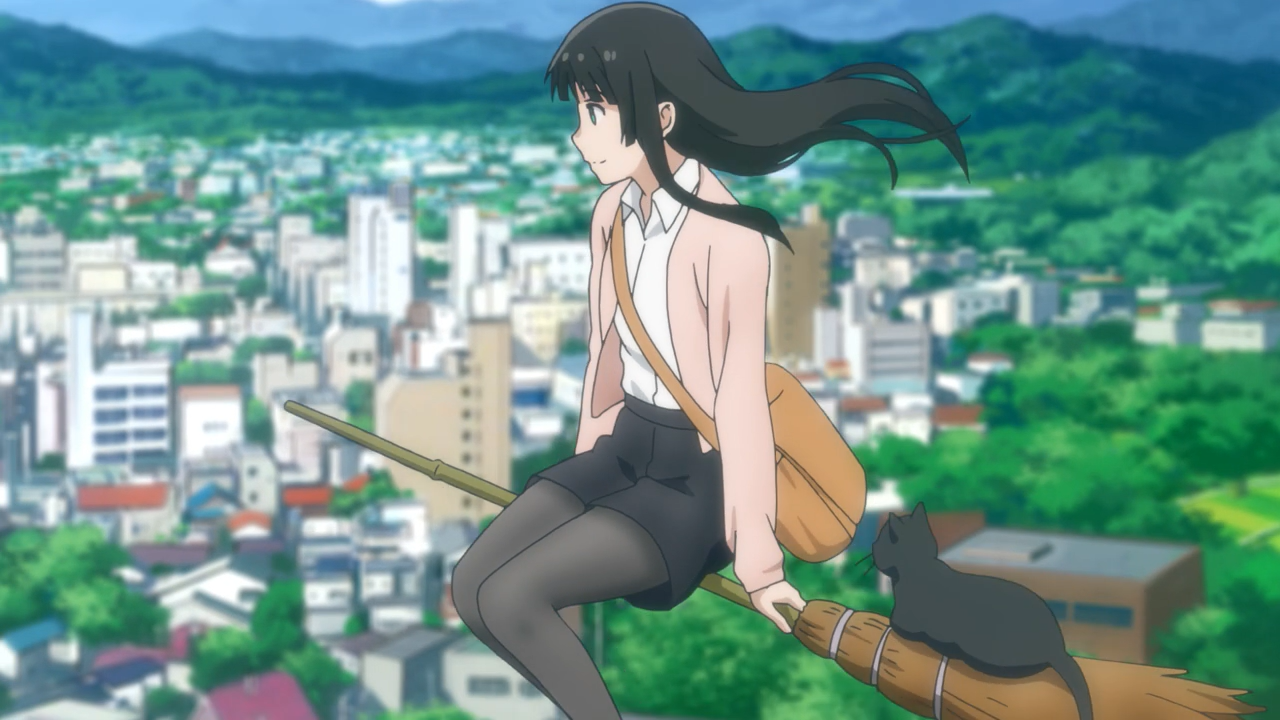 Flying Witch episode 12. Anime characters, Anime, Flying