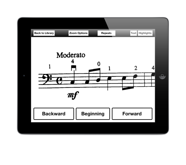 Music Zoom app for visually impaired musicians runs