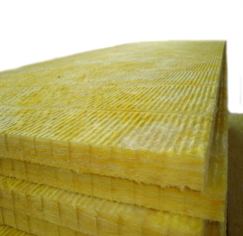 Glass Wool Board Sound Absorption Compressive Strength Glass