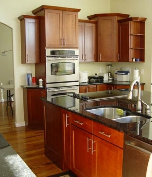 Open Shelf Kitchen Cabinet: Wall Cabinets With Varied