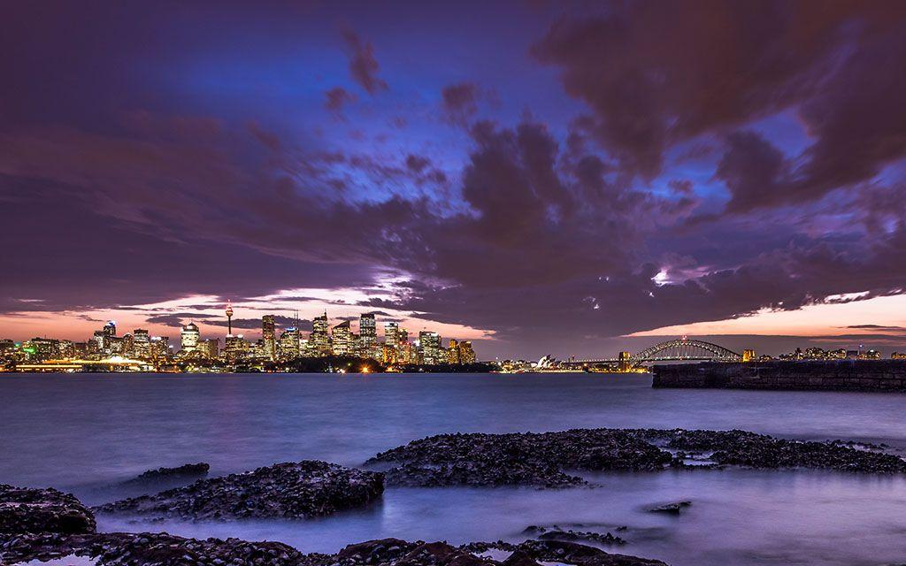 """Night In Sydney"" -- #wallpaper by ""snowlee"" from http:"