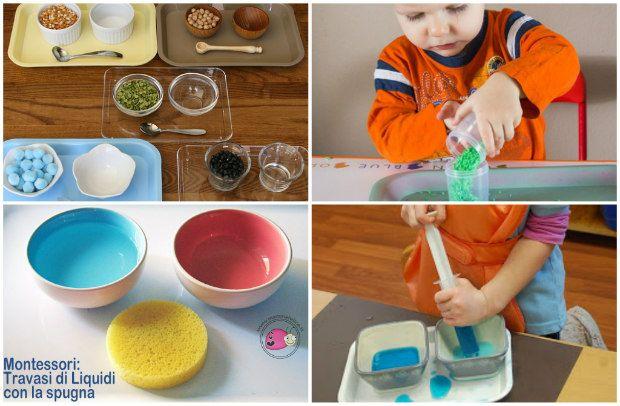 Attività e giochi Montessori per bambini di 2 anni (con
