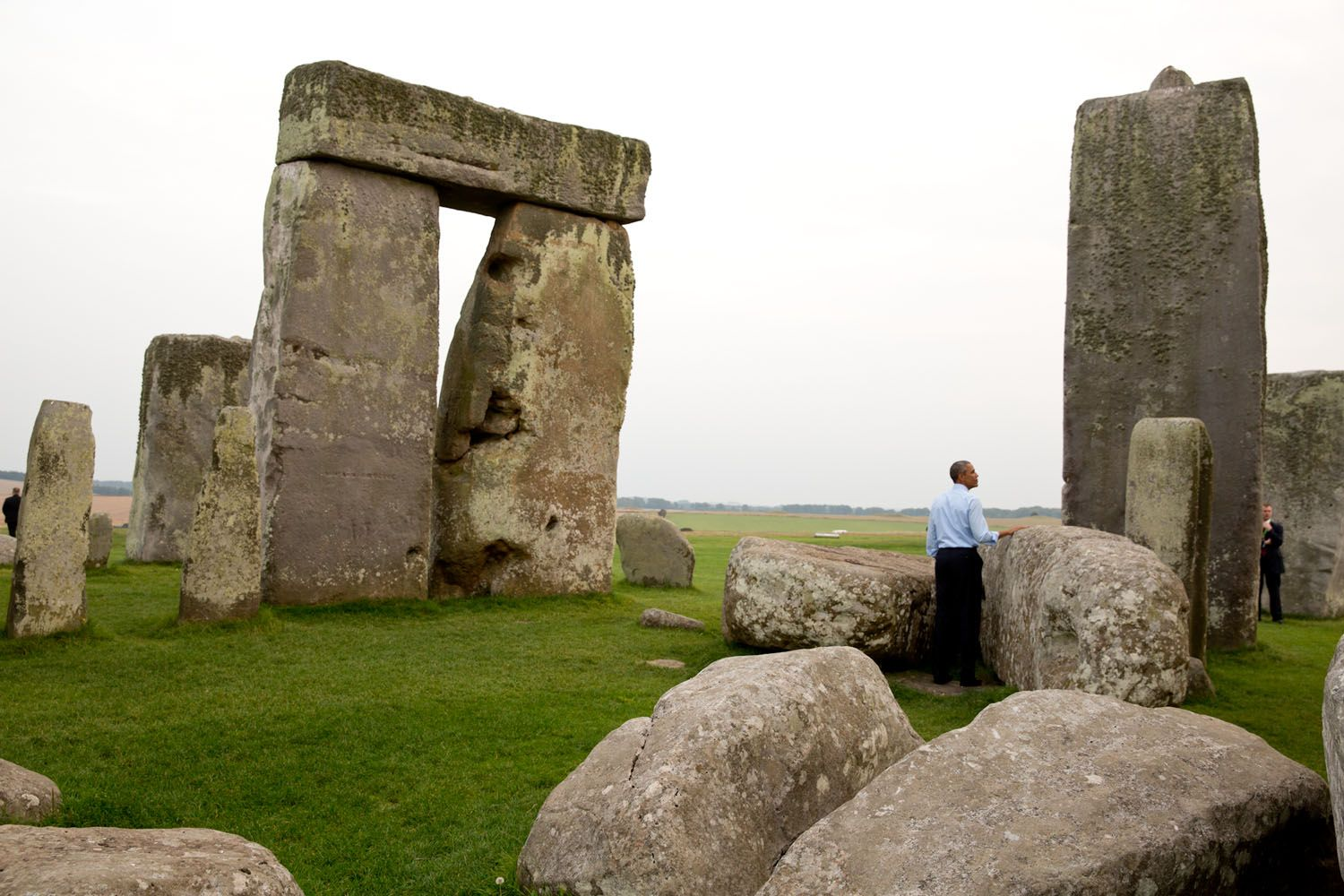 2014:  Obama a Stonehenge Year in Photos | The White House