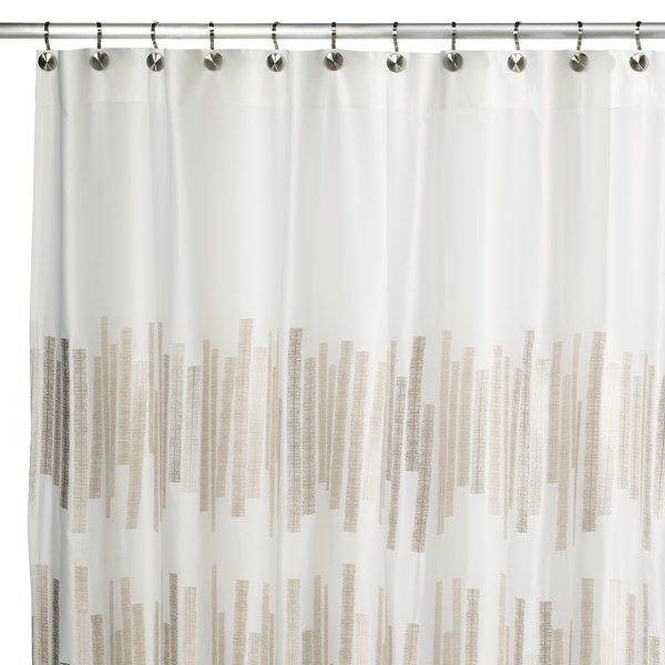 Kenneth Cole Reaction Home Frost 72 Inch X 72 Inch Shower Curtain Curtains Shower Curtain Contemporary Shower