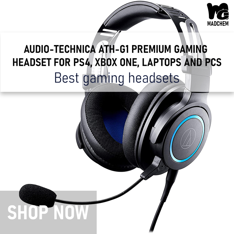 Buy Audio Technica Ath G1 Premium Gaming Headset For Ps4 Xbox One Laptops And Pcs Best Gaming Headset Gaming Headset Ps4 Headset