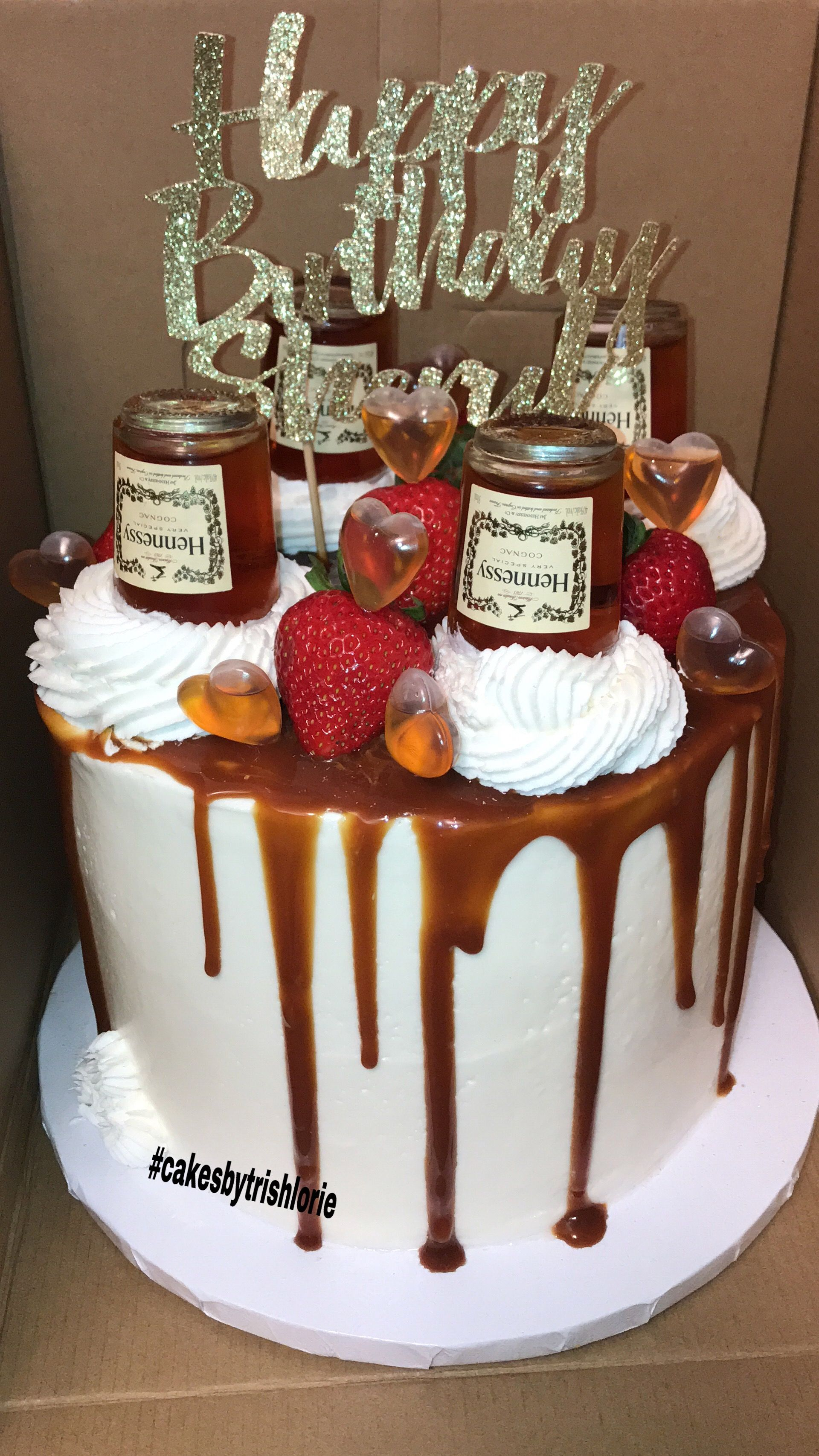 Excellent Hennessy Drip Cake 21St Birthday Cakes Adult Birthday Cakes Funny Birthday Cards Online Elaedamsfinfo