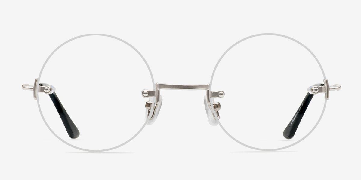 Palo Alto Old School Rimless Silver Frames Eyebuydirect Eyeglasses For Women Eyeglasses Eyebuydirect