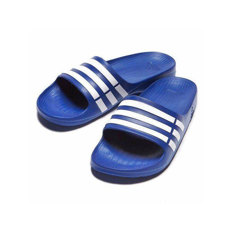 llenar veredicto barajar  Chanclas Adidas Azul/Blanco | Adidas azules, Chanclas, Adidas