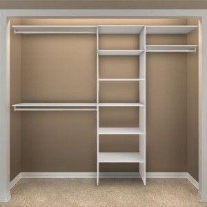 Simple Dressing Room With Closetmaid Shelving Units Organizer White Wooden Shelves Ideas And