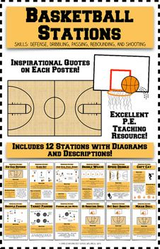 basketball stations pe stations pe lesson plans