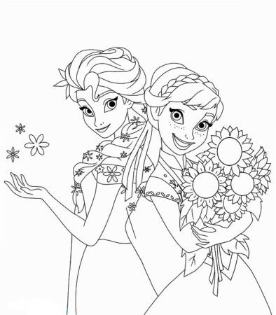 Eiskönigin Ausmalbilder Malvorlagen eiskönigin Disney