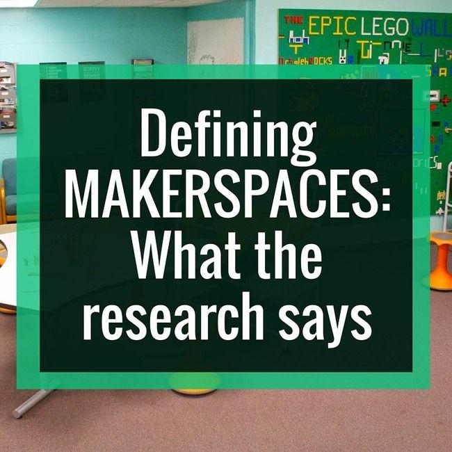 Defining Makerspaces