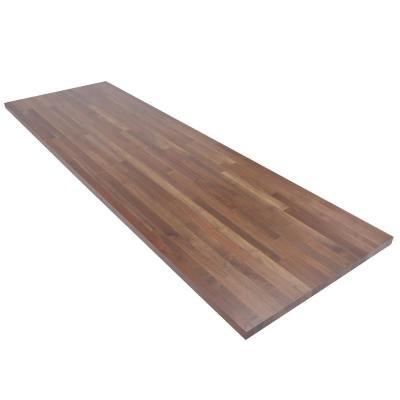 Swaner Hardwood 8 Ft L X 2 Ft 6 In D X 1 5 In T Butcher Block