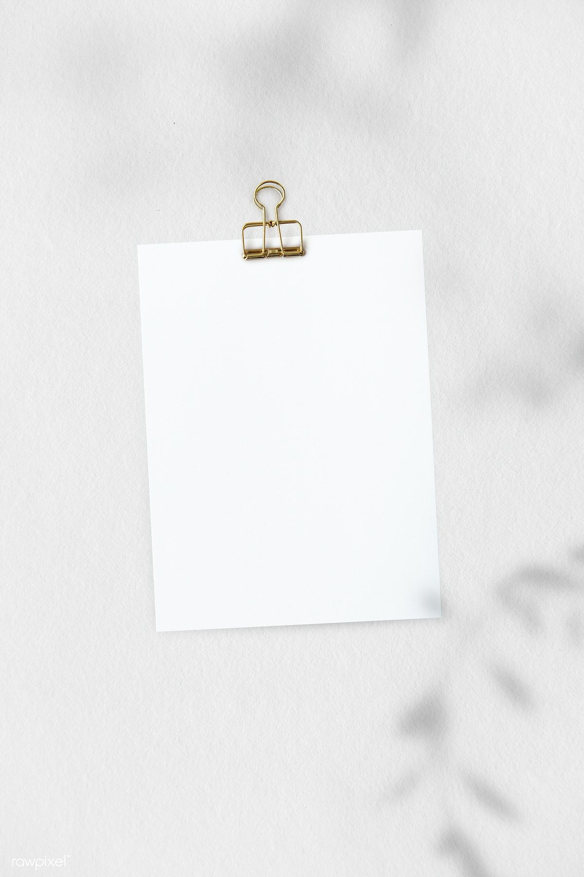 Download Premium Psd Of Blank Plain White Paper Template 1202034 Paper Template Instagram Frame Template Paper Template Free