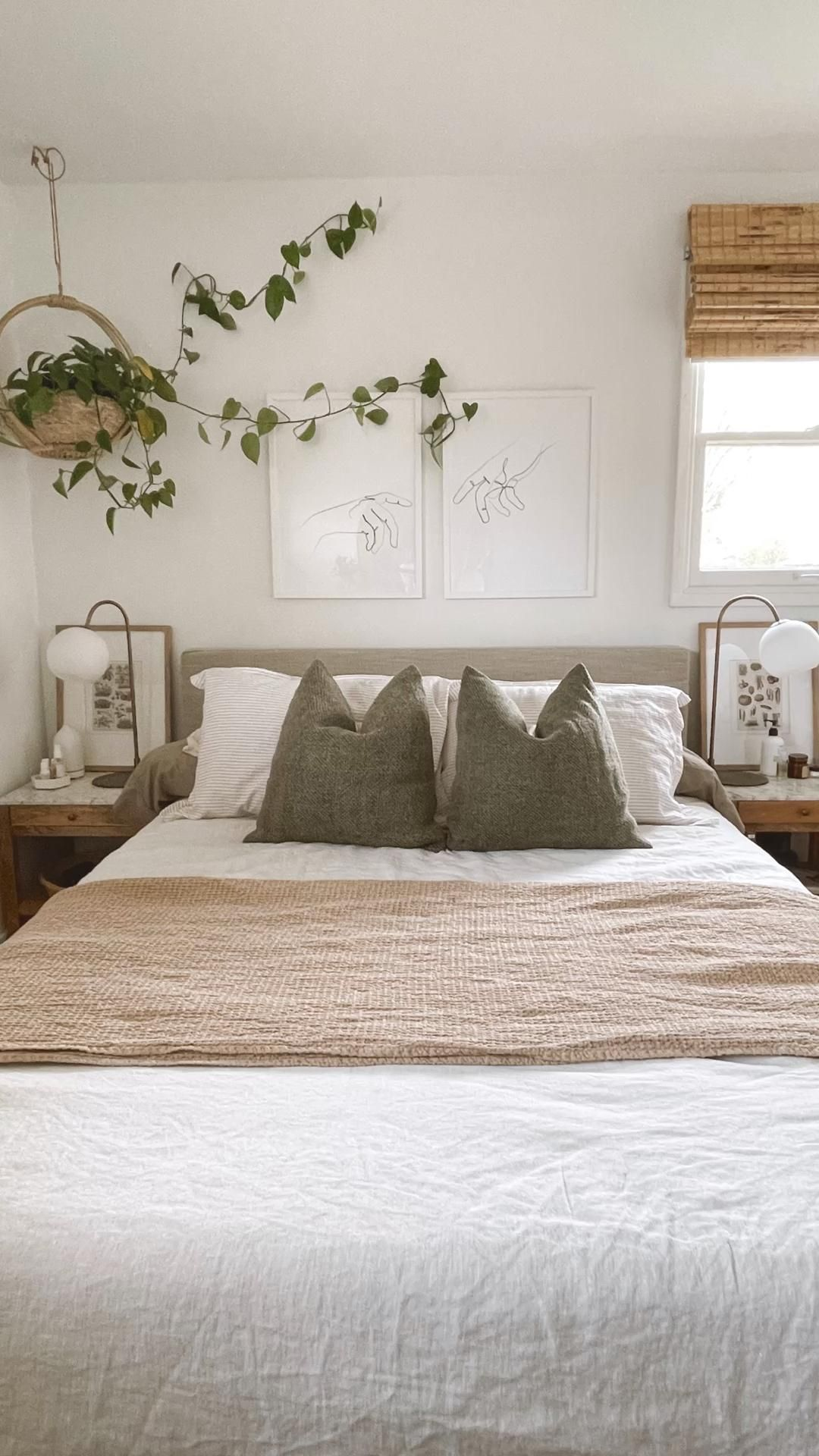 Nordic Scandi Boho Bedroom Vibes