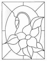 Pin De Betina Stabile Em Vitrales Dibujos En Vidrio Vidrio