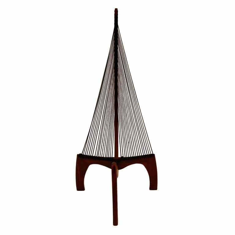 1stdibs | Harp chair attibuted to Jorgen Hovelskov - Harp Chair Attributed To Jorgen Hovelskov Modern Chairs