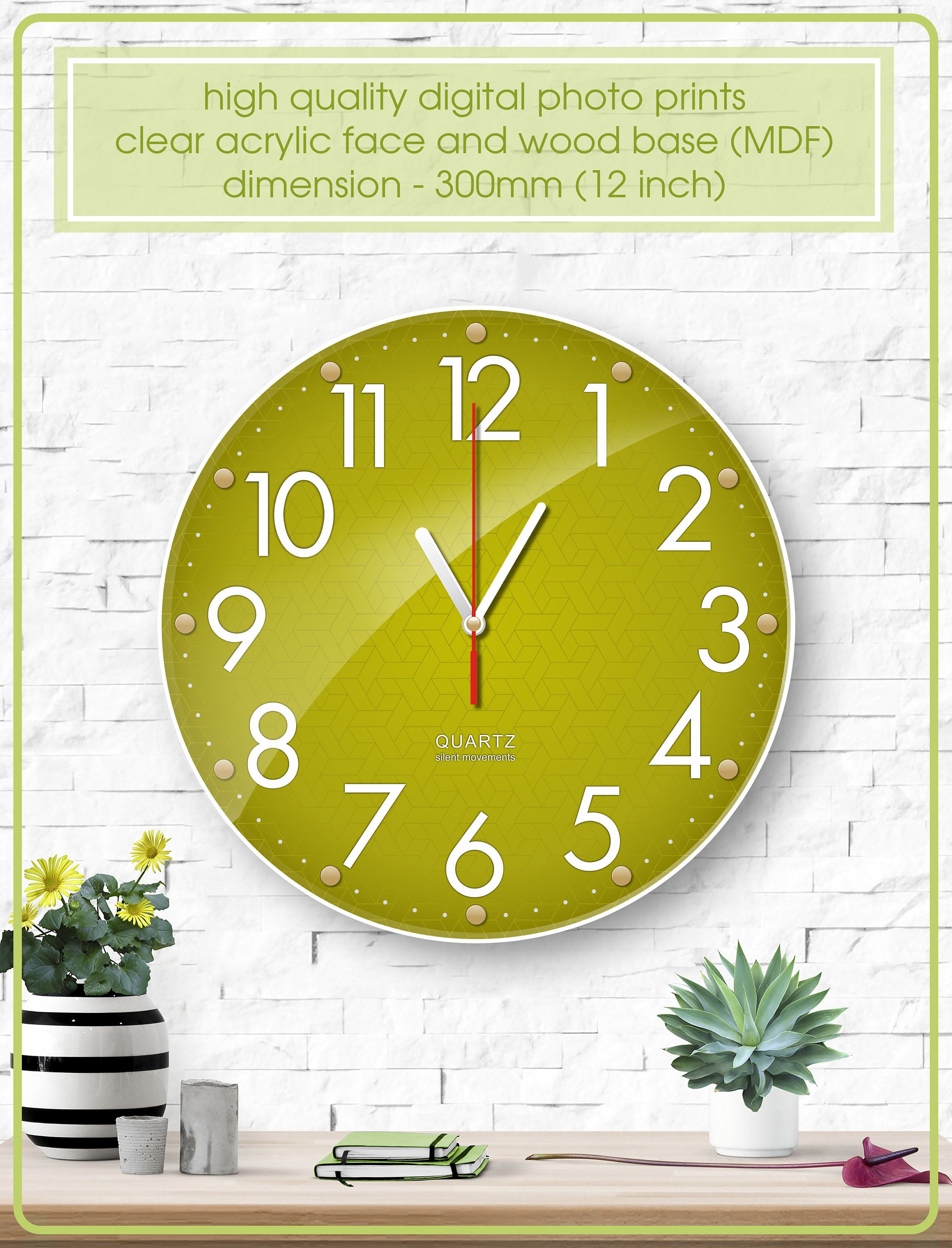 Pin On Etsy Shop Akcraftsua Wall Clock