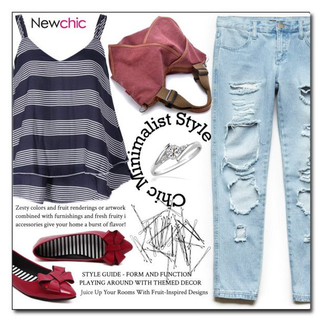 """""""NewChic 3"""" by fashion-pol ❤ liked on Polyvore featuring Forever 21 and Monki"""
