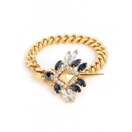 Fallon Winged Chain Bracelet