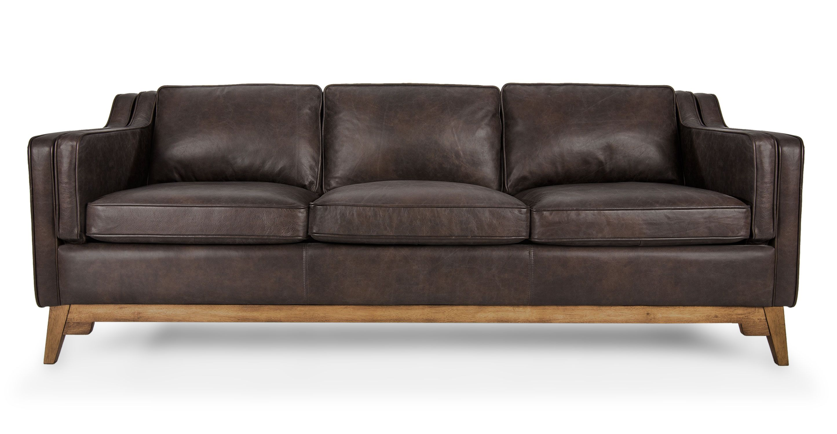 Best Worthington Oxford Brown Sofa Black Sofa Leather Sofa 400 x 300