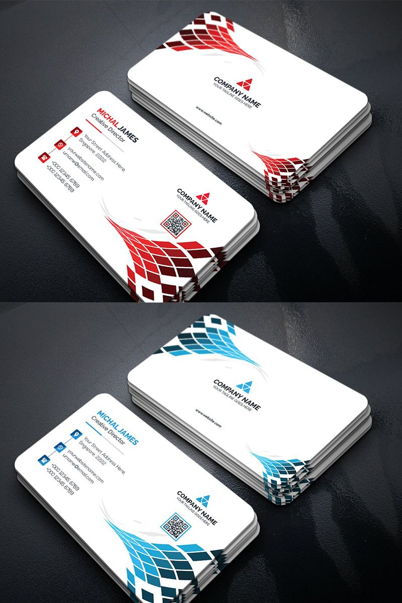 Abstract Business Card Corporate Identity Template 96113 Design Business Card Ideas Business Card Design Creative Business Card Design Minimal