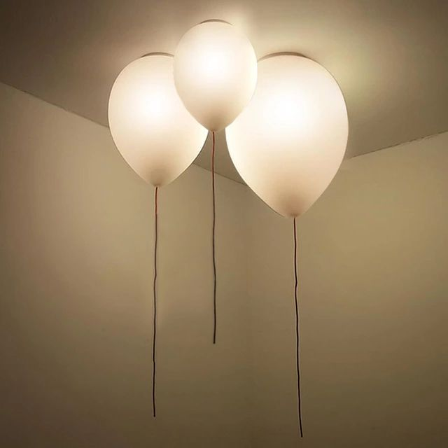 Ceiling Lights For Kids Room Children Lamp Modern Light Fixture Ballon Design Simple Bedroom