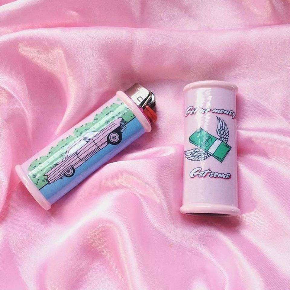 Lighter Cases Digital Illustration By Selina Finch Iiiamselina Planetsel Com Lighter Case Cool Lighters Diy Decorate Lighter