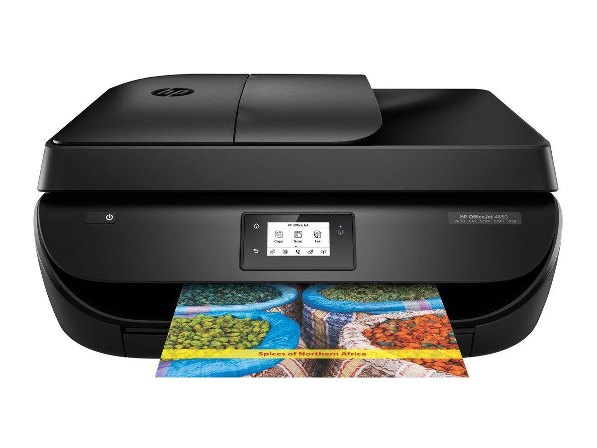 Hp Officejet 4650 Color Inkjet All In One Printer F1j03a Hp Officejet Wireless Printer Printer Driver