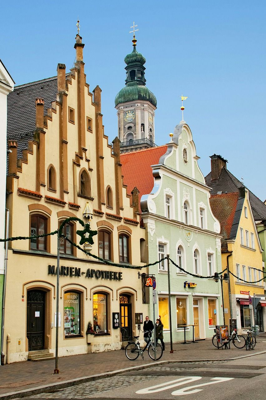 Freising Germany Map.Germany Freising Bavaria Germany Old Town Germany Freising