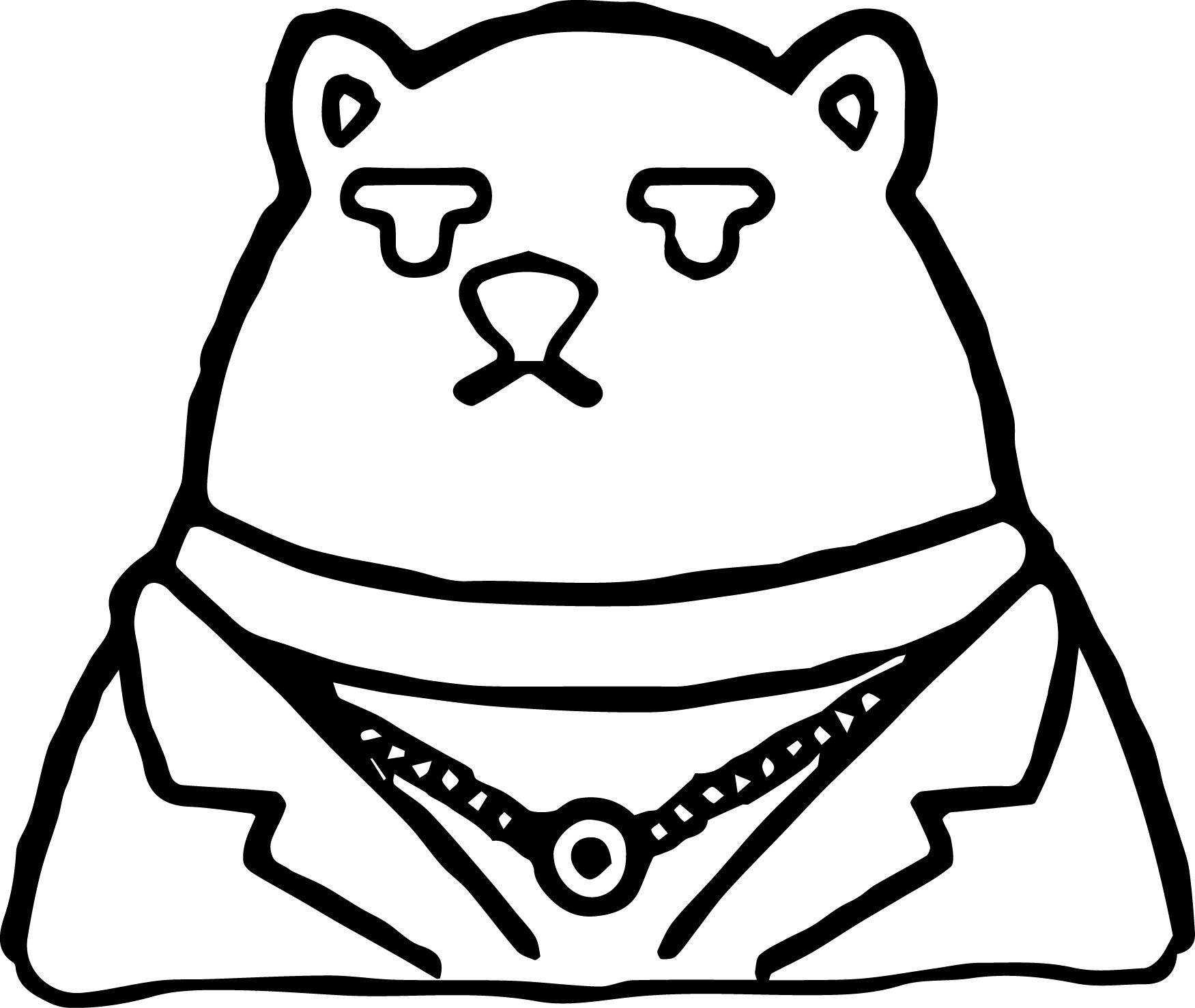 Awesome koslov bear zootopia basic coloring page wecoloringpage
