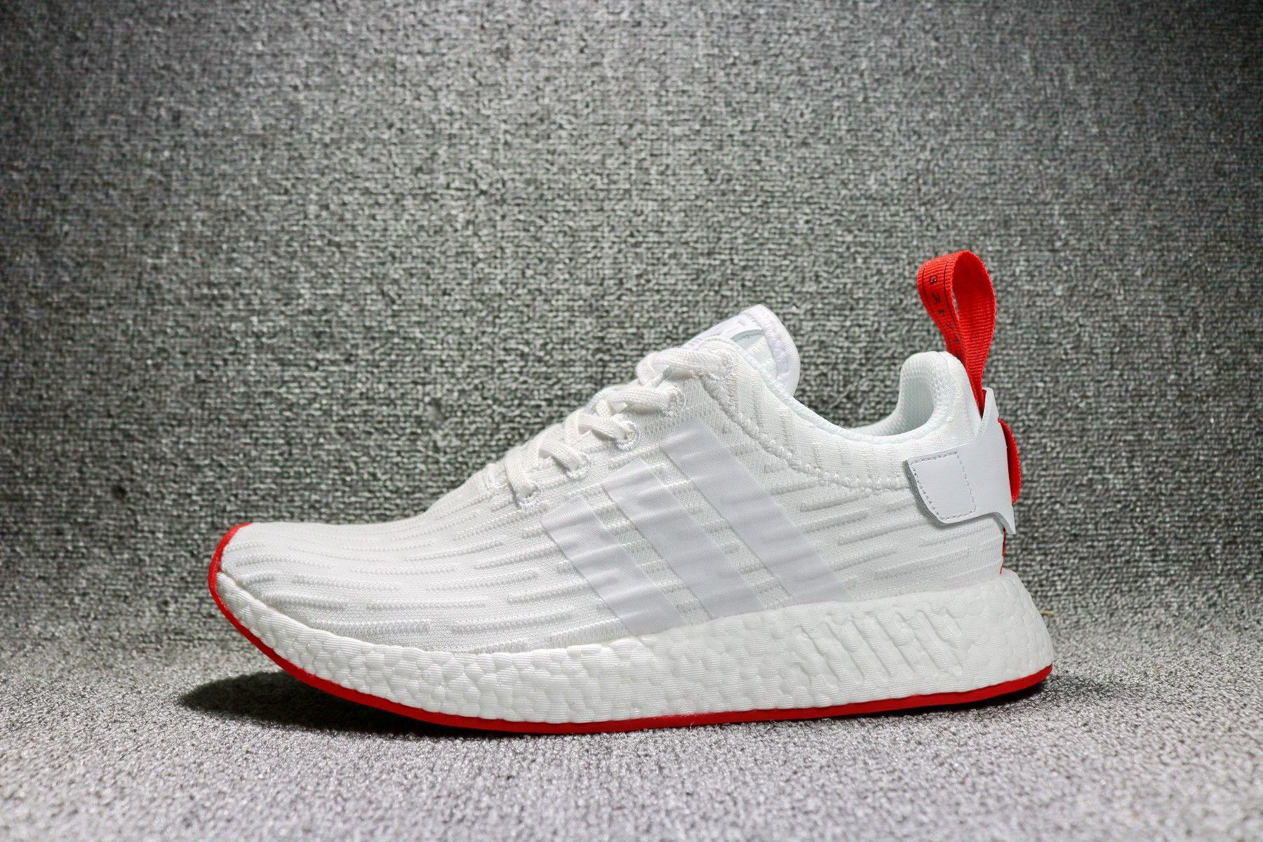 24dba1e8f Adidas NMD R2 Primeknit Footwear White Core Red