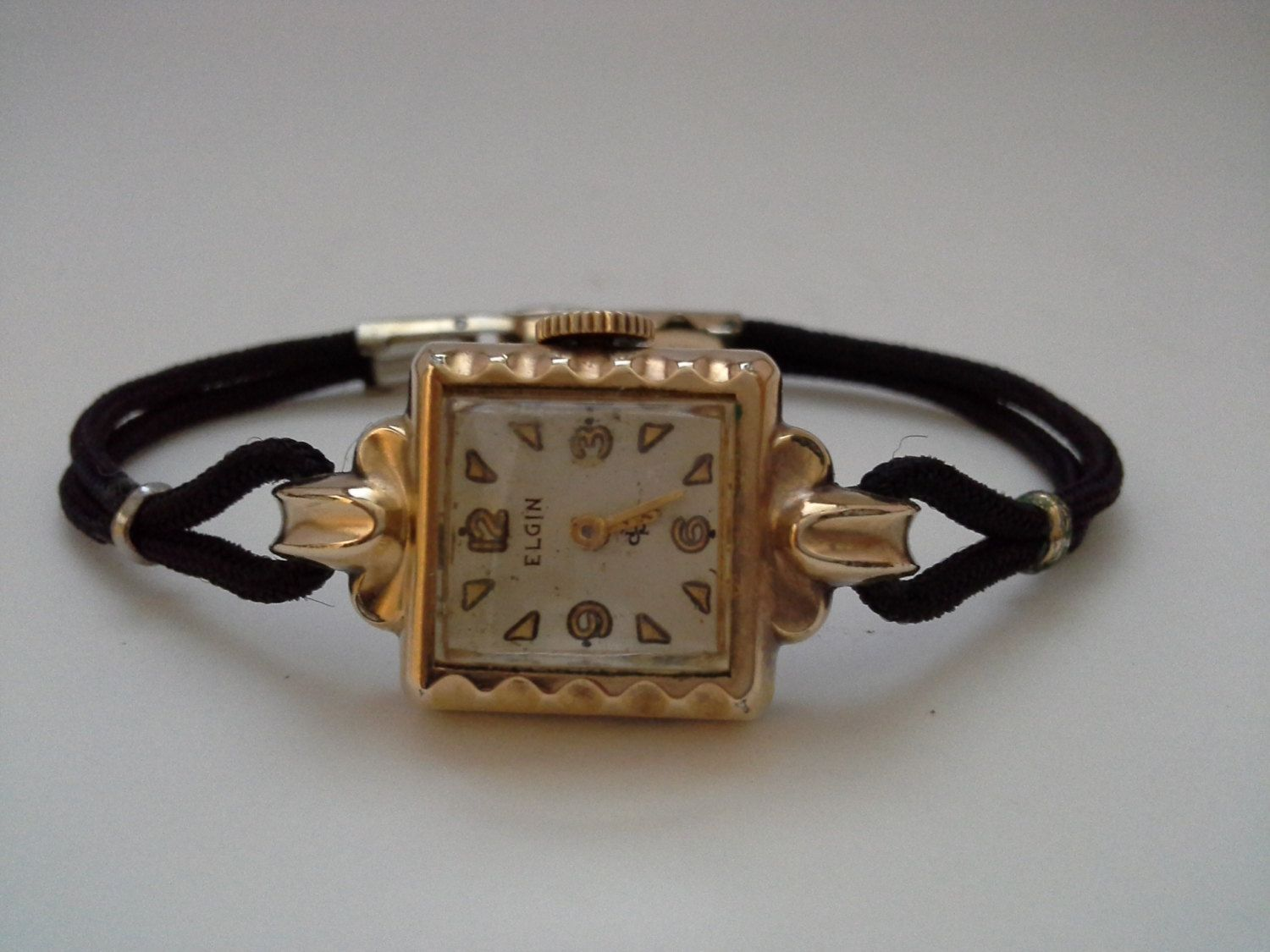 diamond watch l gold bulova vintage d watches filled circa products