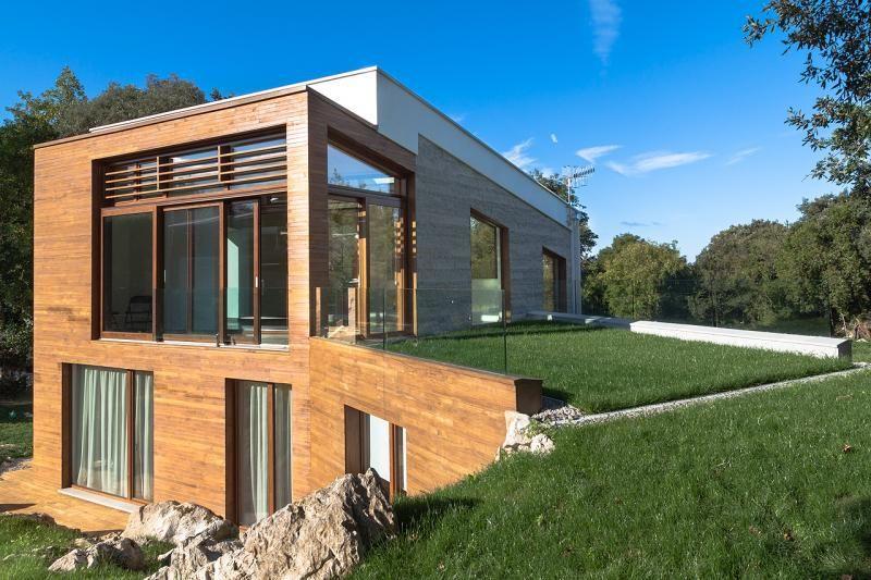 Casa Pasiva Entreencinas Casa Pasiva Casas Bioclimaticas Casas Ecologicas
