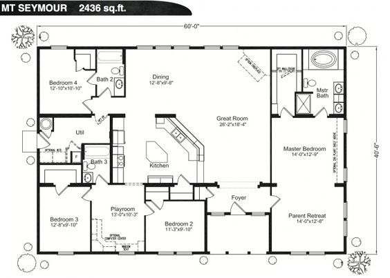 Barn House Blueprints Floor Plans Farmhouse Floor Plans Barndominium Floor Plans House Blueprints