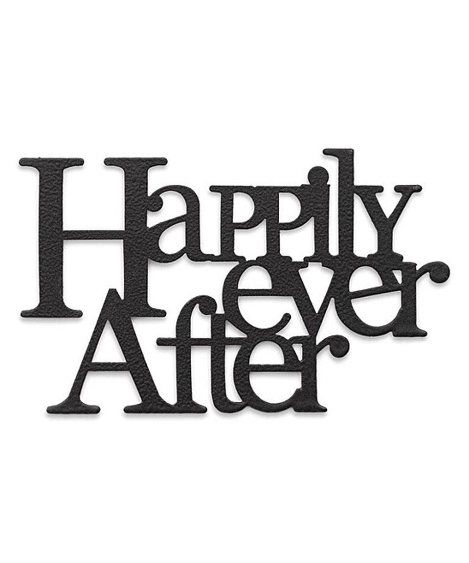 Another great find on #zulily! \'Happily Ever After\' Magnet by ...
