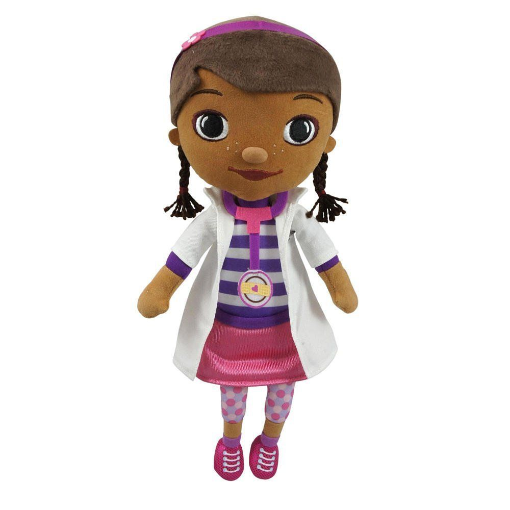 Free shipping Doc McStuffins doll plush toys,Cute plush toy Dottie doll 22cm,Doc McStuffins toys stuffed doll,dolls for girls US $16.20