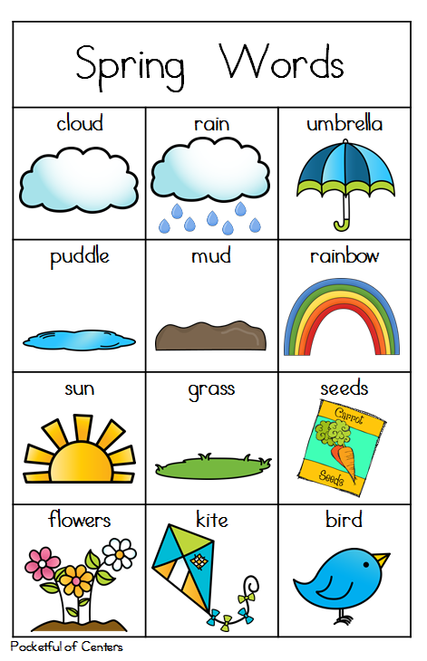 Worksheets Vocabulary Words For Kindergarten With Pictures do tornadoes really twist task cards improve english spring and writing center great for kindergarten repinned by sos inc resources pinterest