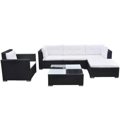 Zestaw Wypoczynkowy Do Ogrodu 17 Czesci 9020262910 Allegro Pl Outdoor Sofa Sets Outdoor Lounge Seating Balcony Furniture