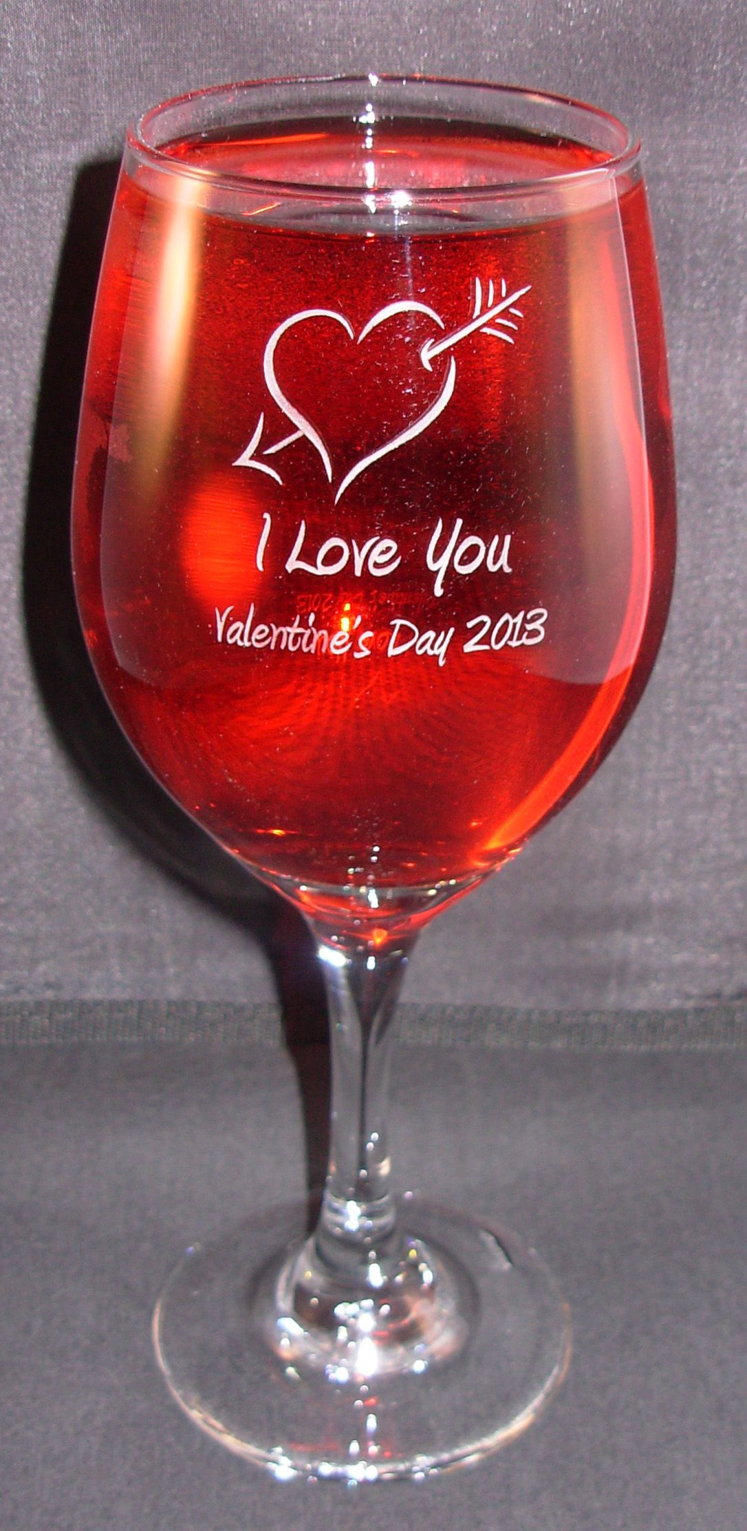 Valentine S Day Personalized Engraved Perception Wine Glass See It And Others Here Www Fantasygla Valentines Day Wine Valentines Beer Engraved Wine Glasses
