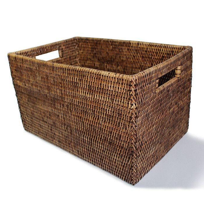 BAM008-AB: Rectangular Open Storage Basket