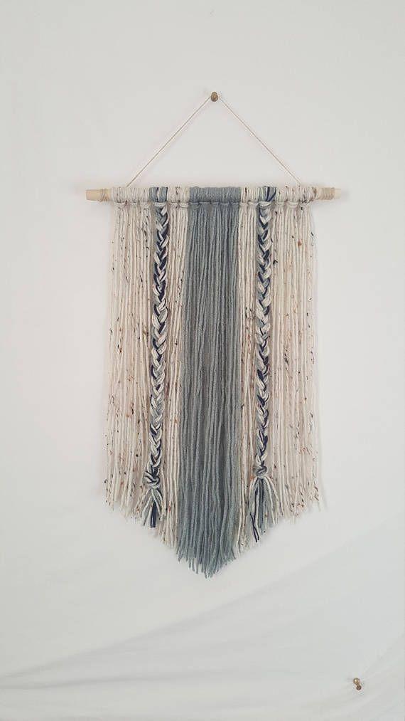 Boho Yarn Wall Hanging-Decor-Wall Decor-Dorm Decor-Tapestry ...