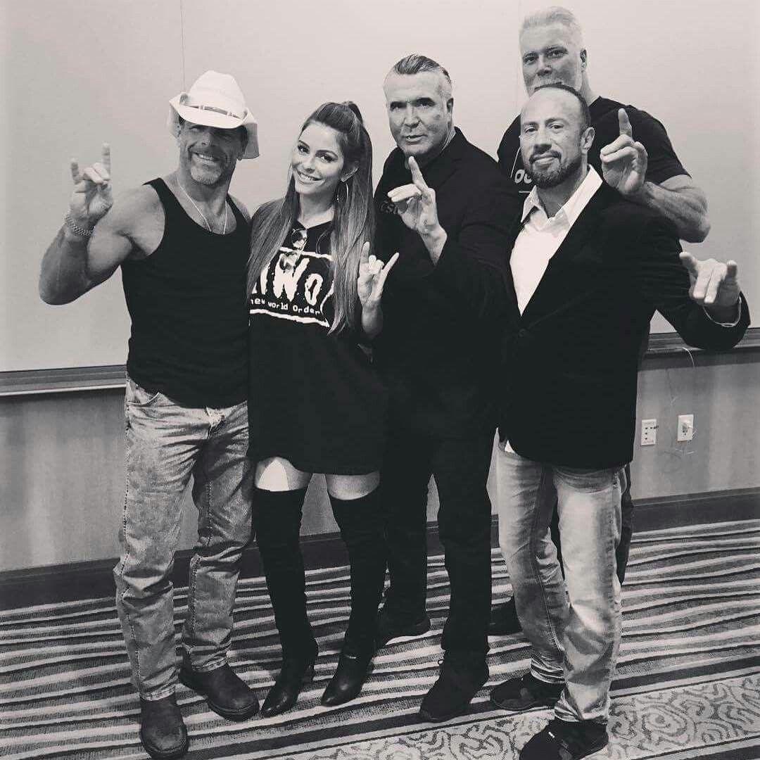 HBK Shawn Michaels, Maria Menounos, Razor Ramon, X-Pac, Kevin Nash ...