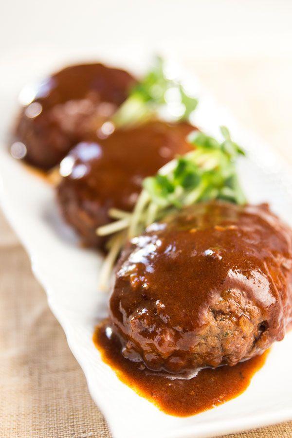 Japanese Hamburg Steak Recipe ハンバーグ Hambagu Recipe Food Recipes Beef Dishes